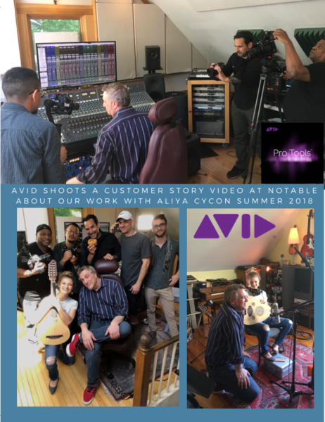 Avid Shoots Customer Story at Notable Featuring Aliya Cycon