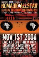 Nomadic All-Star Global Hip-Hop Throwdown