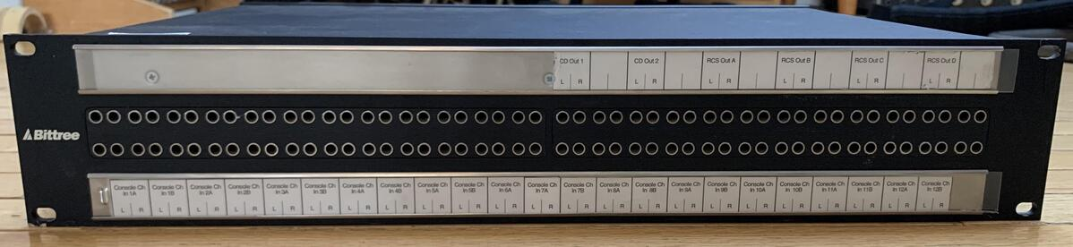 Bittree Bantam Patch Bay with E3M connectors