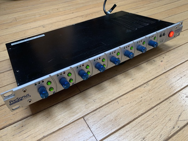 PreSonus Digimax LT 8 ch Preamps One with Custom preamp improvements and lower noise floor