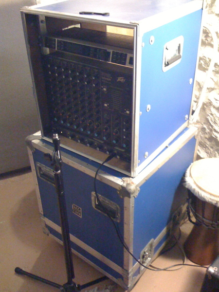 Rack Blue 12 space