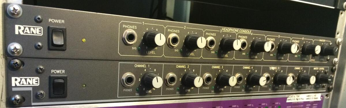 Rane HC6 Headphone Amps 3 units for sale with some improvements and modifications
