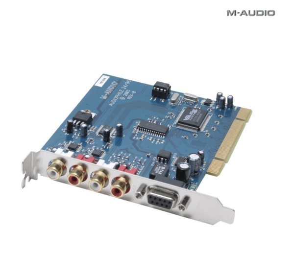 MAudio Audiophile 24bit 96KHz PCI Interface