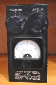 Sound Survey Meter  Possibly from the 1950039s