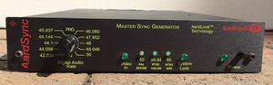 Aardvark Sync DA Universal Sync Distribution 1X6 Wordclock and Master Sync Generator for sale together used for 500