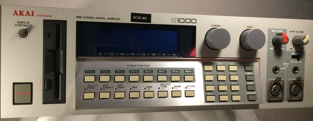 AKAI S1000 Sampler w 32 megs nbspUsed nbsp350