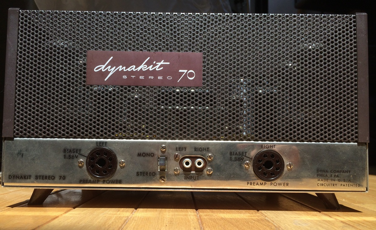 Dynakit Stereo 70 Tube Amplifier 900