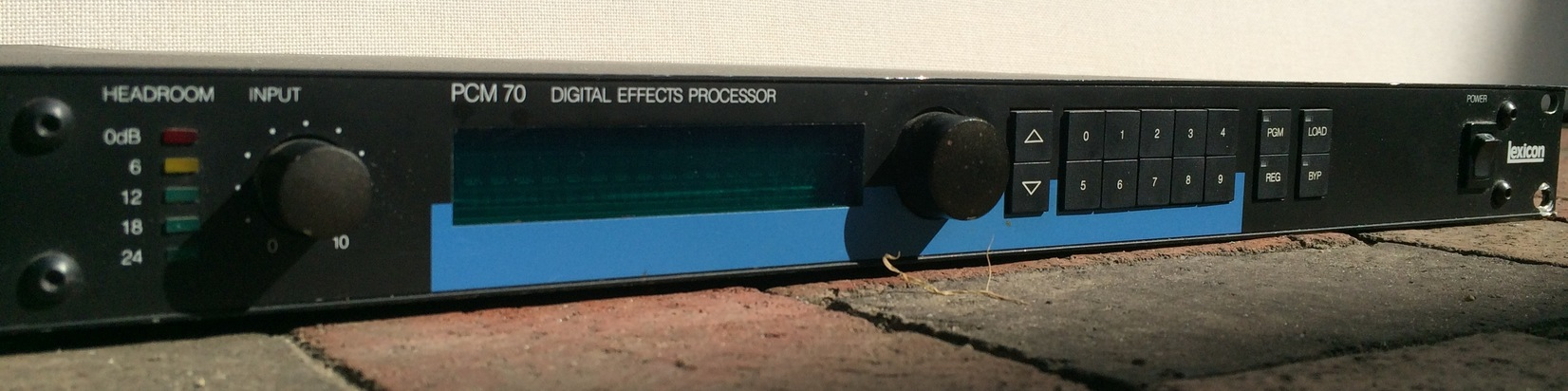 Lexicon PCM 70 Digital Effects Processor Used