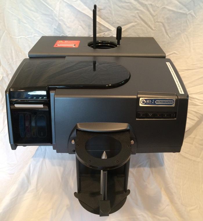 Microboard MX-2 DVD amp CD Publisher  duplicator and printer  1700