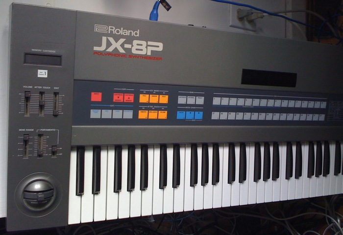 Roland JX-8P Keyboard Synth
