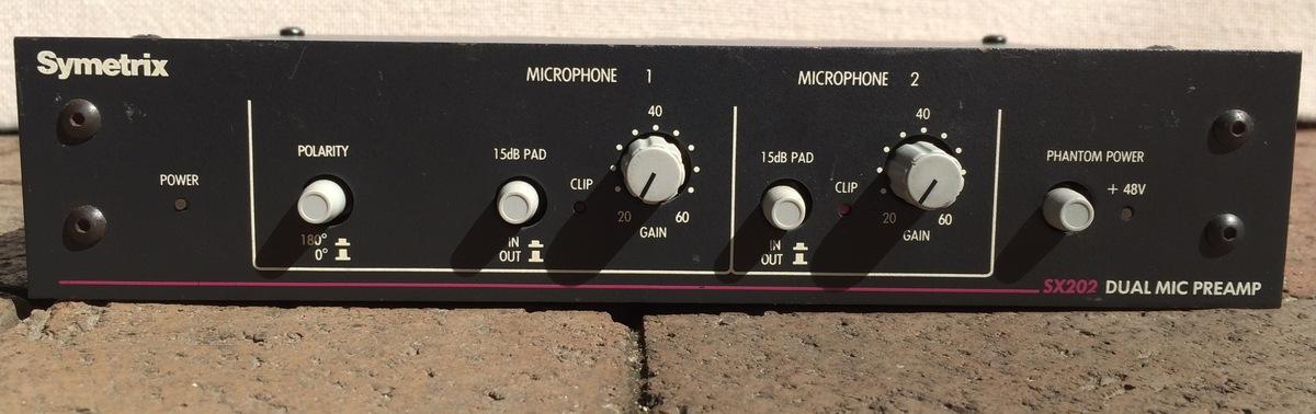 Symetrix SX202 2Ch Mic Preamp