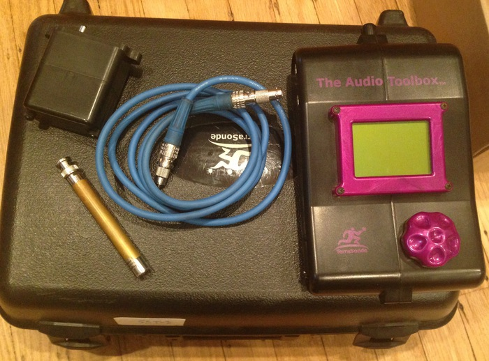 Terrasonde Audio Tool Boxes Measurement tools and acoustic analysis for sale
