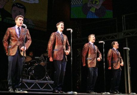 Jersey Boys use Notable vintage Mics